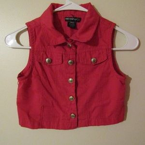 One Step Up Girls' Vest